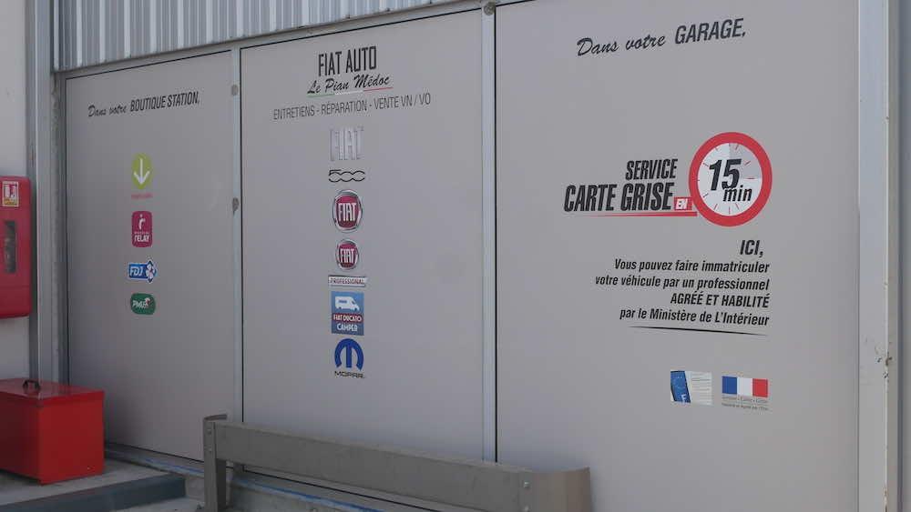 gallerie garage fiat auto
